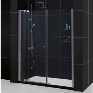 DreamLine DL-6422L-01CL Shower Door and Base Sets