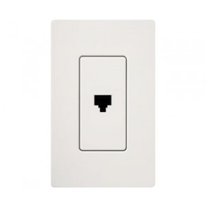 Lutron CA-PJ-WH Phone Jacks