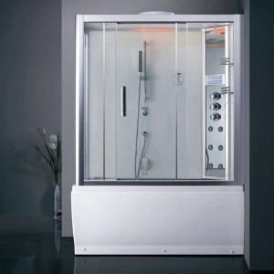 Ariel Bath DA328F3 R Steam Shower with Tub