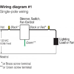 diagram dv 600p_2 lutron s 600p wh dimmer switch, 600w 1 pole skylark incandescent Leviton Outlet Wiring Diagram at readyjetset.co