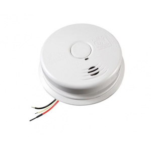Kidde i12010S Smoke Detector, 120V 10-Year Worry-Free AC/DC Sealed on