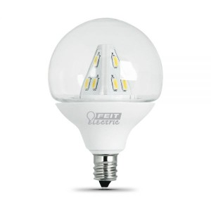 Feit Electric BPG161/2/CL/LED/RP LED Light Bulb
