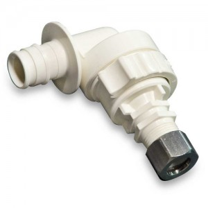 Uponor Wirsbo Q4905038 ProPEX EP Angle Stop Valve for 1