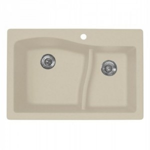 Swanstone QZLS-3322 (076) Double Bowl Kitchen Sink