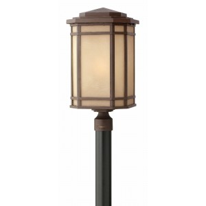 hinkley outdoor lighting collection hinkley lighting 1271ozled led outdoor light cherry creek post oil rubbed bronze