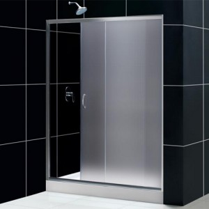 DreamLine DL-6006L-04CL Shower Door and Base Sets