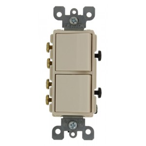 Leviton 5640-T Combo Switches