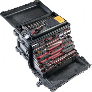 Pelican 0450WD-BLACK Mobile Tool Chest