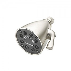 Genial Speakman S 2251 SN Shower Head, 8 Jet Anystream Fixed Mount   Satin Nickel