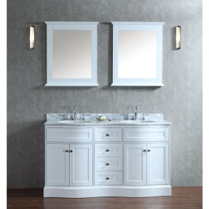 Ariel Bath SCMON60SWH Vanity Sets