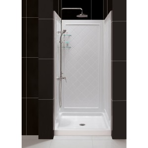DreamLine SHBW-1434743-01 Shower Base & Back Wall Sets
