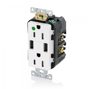 Admirable Find Cooper Wiring Devices Tr7740W K Combination Usb Charger With Wiring Database Gramgelartorg