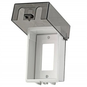 Leviton T5979 Gy Gfci Receptacle 1 Gang Weatherproof Cover