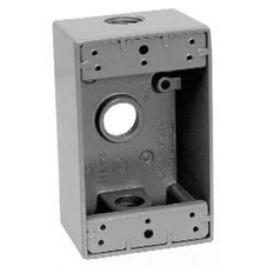 Crouse Hinds TP7010 Metal Electrical Box