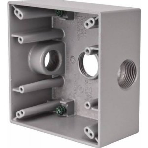 Crouse Hinds TP7086 Metal Electrical Box