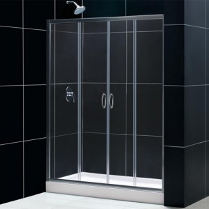 DreamLine DL-6011C-01CL Shower Door and Base Sets