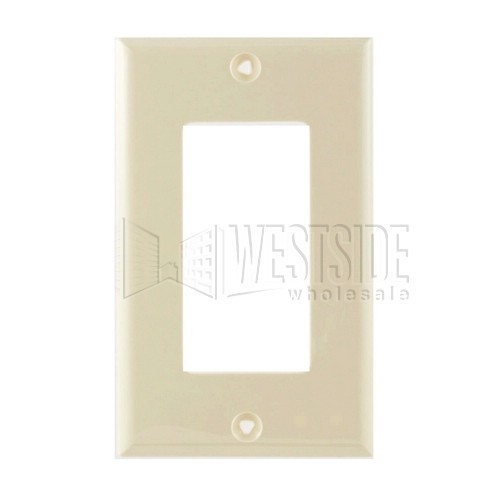 Cooper Wiring 5151v Electrical Wall Plate Decorator 1 Gang Ivory