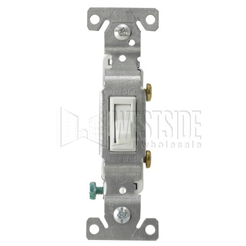 cooper wiring 1301 7w light switch ac quiet framed toggle switch rh westsidewholesale com A Light Switch Wiring cooper light switch wiring diagram