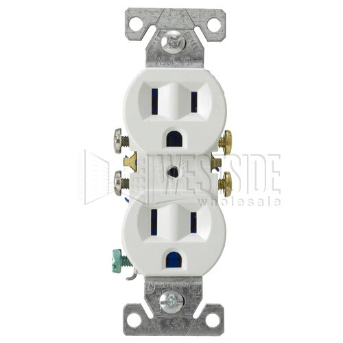 Cooper Wiring 270W Electrical Outlet, Standard Grade Duplex ...