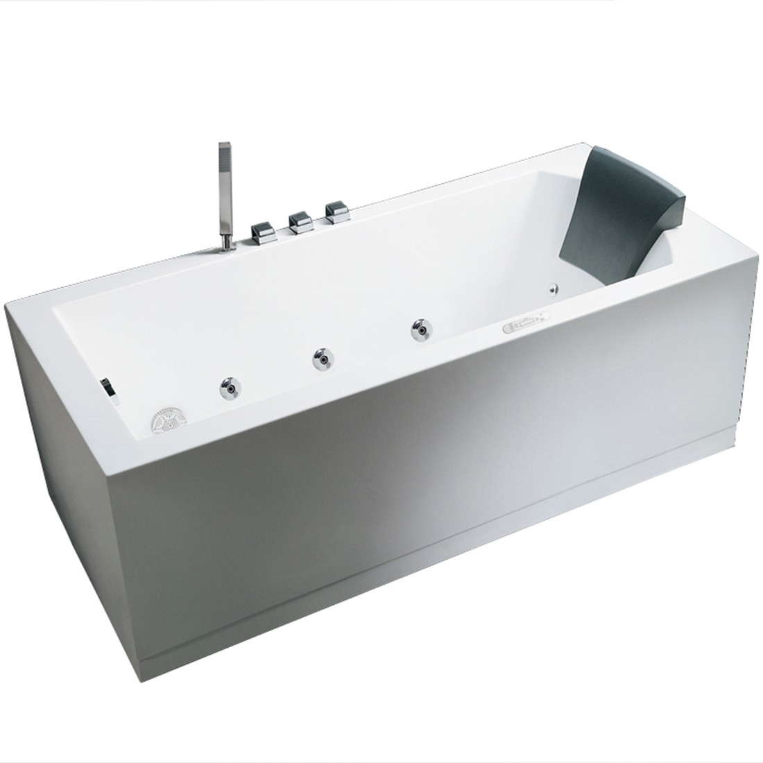 Ariel Bath AM154JDTSZ-L-59 Platinum Whirlpool Bathtub - 59\