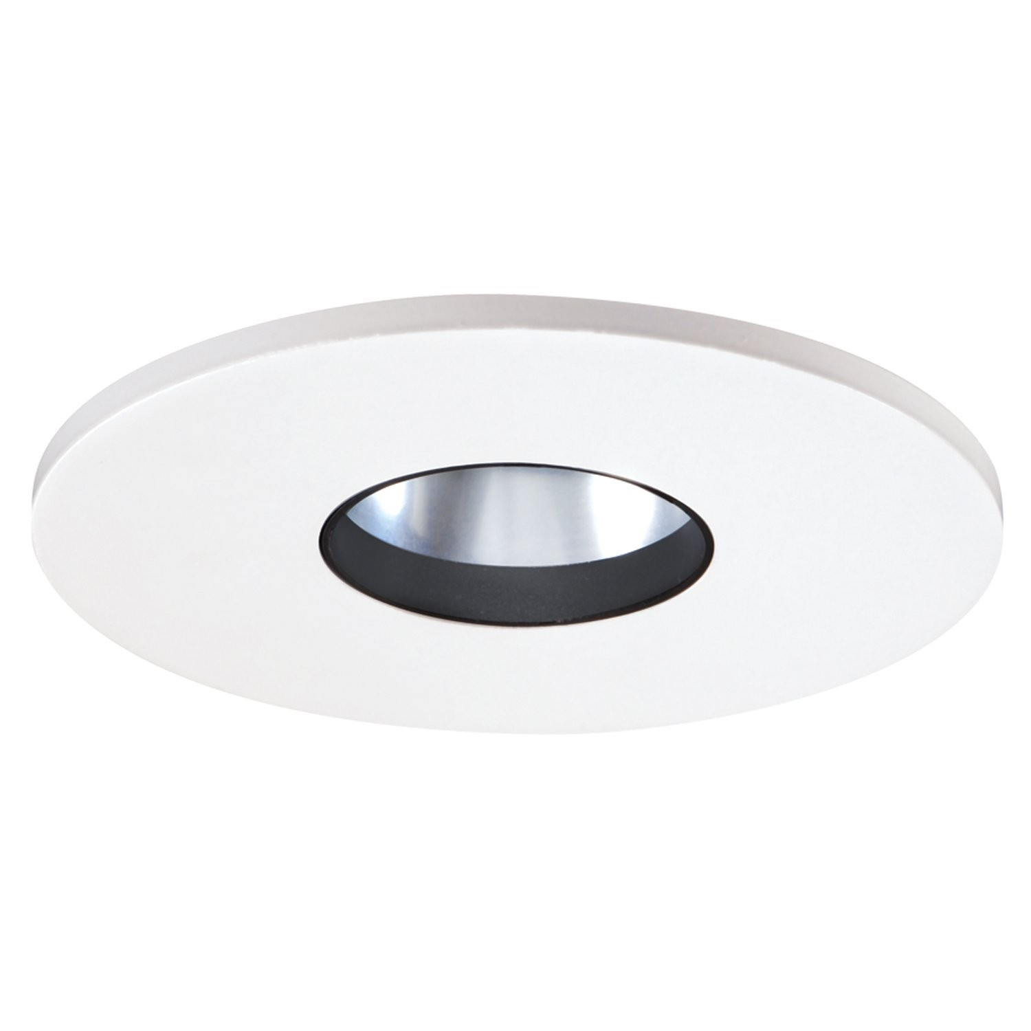 "Bathroom Lights Low Voltage halo 3002whc recessed lighting trim, 3"" low voltage adjustable"