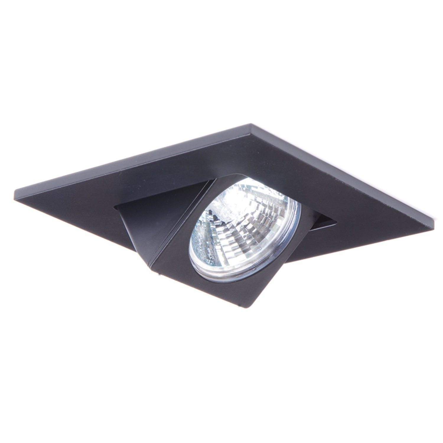 Halo 3013bk recessed lighting trim 3 adjustable gimbal square trim halo 3013bk recessed lighting trim 3 adjustable gimbal square trim black aloadofball