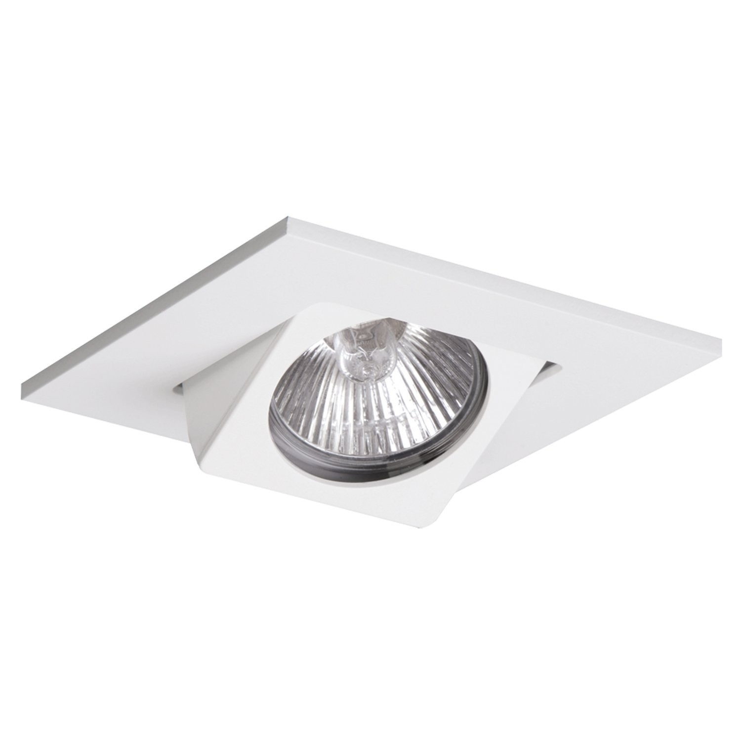 Halo WH Recessed Lighting Trim Adjustable Gimbal Square Trim - Halo light fixtures