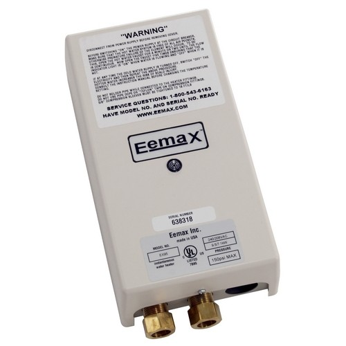 eemax ex95t electric tankless water heater
