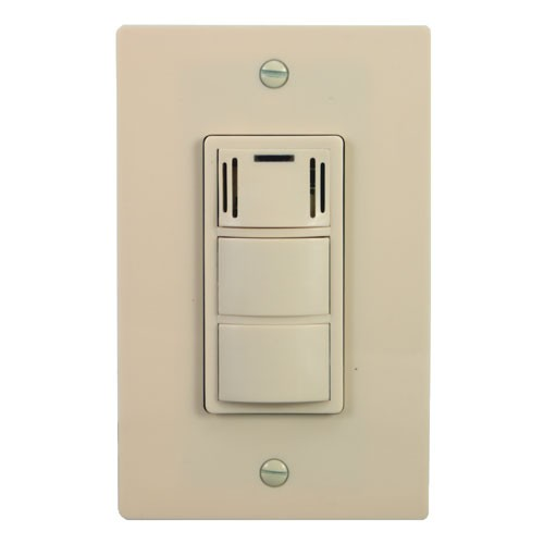Panasonic FVWCCSA Fan Switch WhisperControl Humidity Sensing - Panasonic humidity sensing bathroom exhaust fans