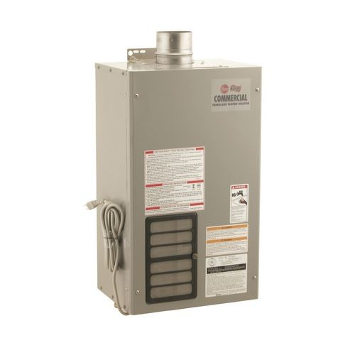rheem gt-199pvp commercial series heavy duty indoor tankless