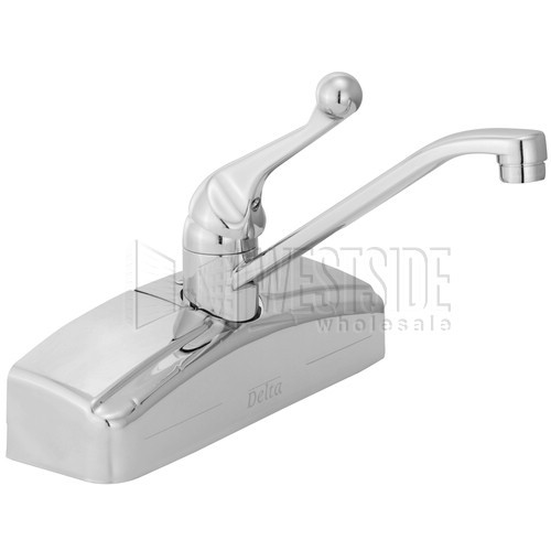 Delta Faucets 200 Delta Classic Wall-Mount Single-Handle Kitchen ...