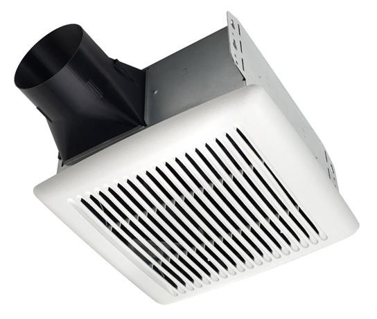 broan ae80b quiet bath fan, 80 cfm 1.5 sones, invent series single