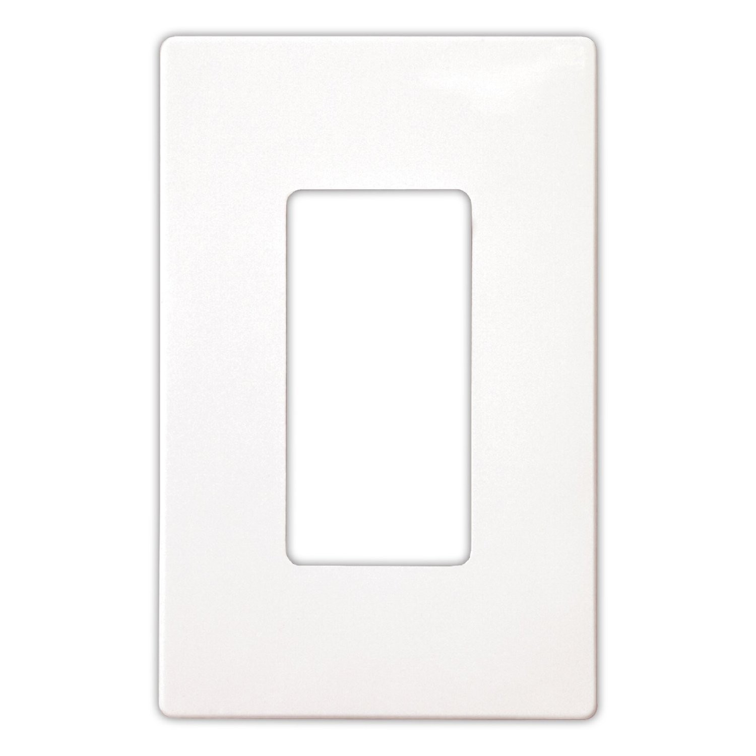 Rocker Switch Plate Cool Cooper Wiring Pjs26W Wall Plate Decorator Midsized Screwless Review