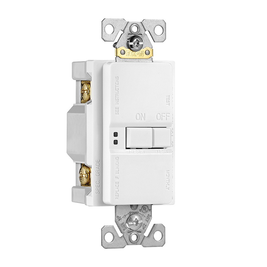 Cooper Wiring Sgfd20w L Gfci Outlet Self Test 20a 125v Indoor Wall Plates Decorator White