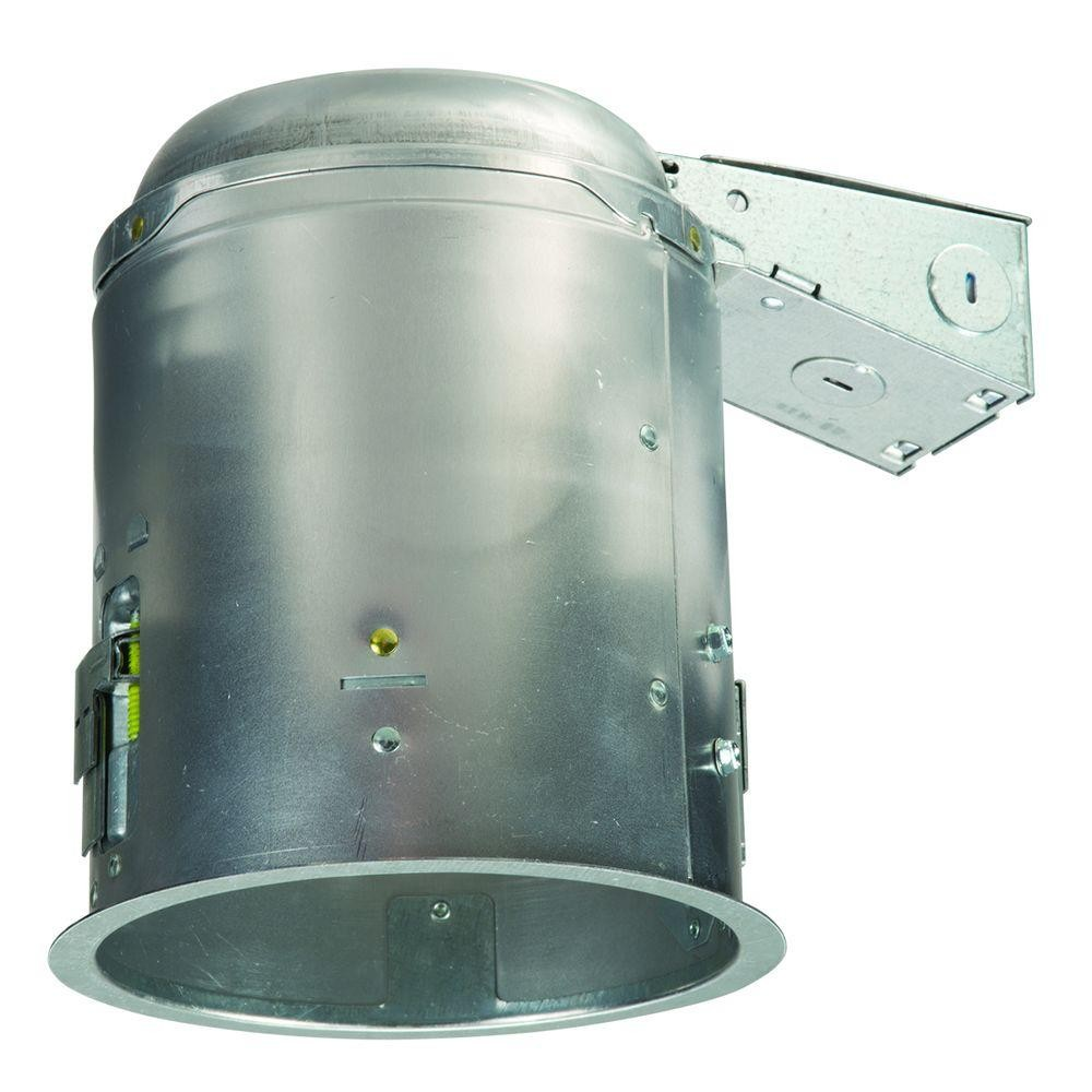 halo e5ricat led recessed lighting housing 5 ic rated air tite