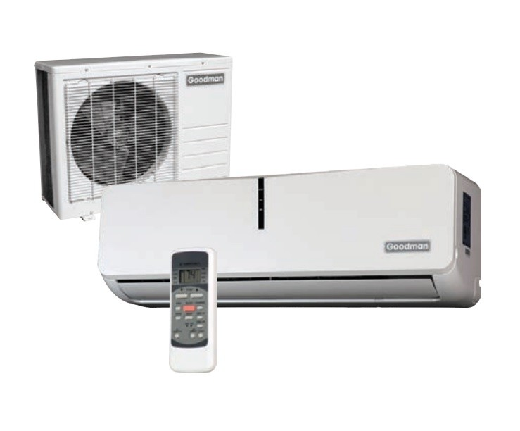 Goodman MSC092E15AX Ductless Air Conditioning, 115V 15 SEER Single ...