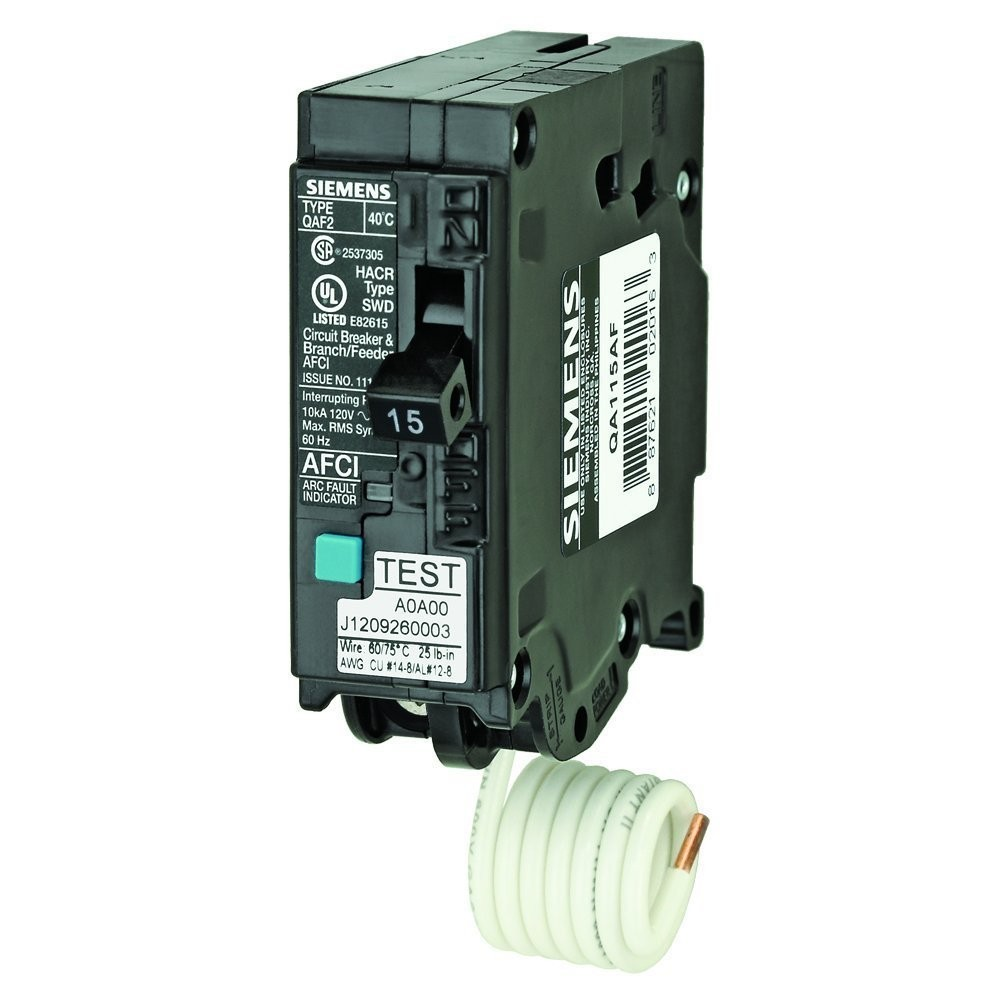 siemens qa115af 15 amp single pole 120 volt plug on branch feeder rh westsidewholesale com