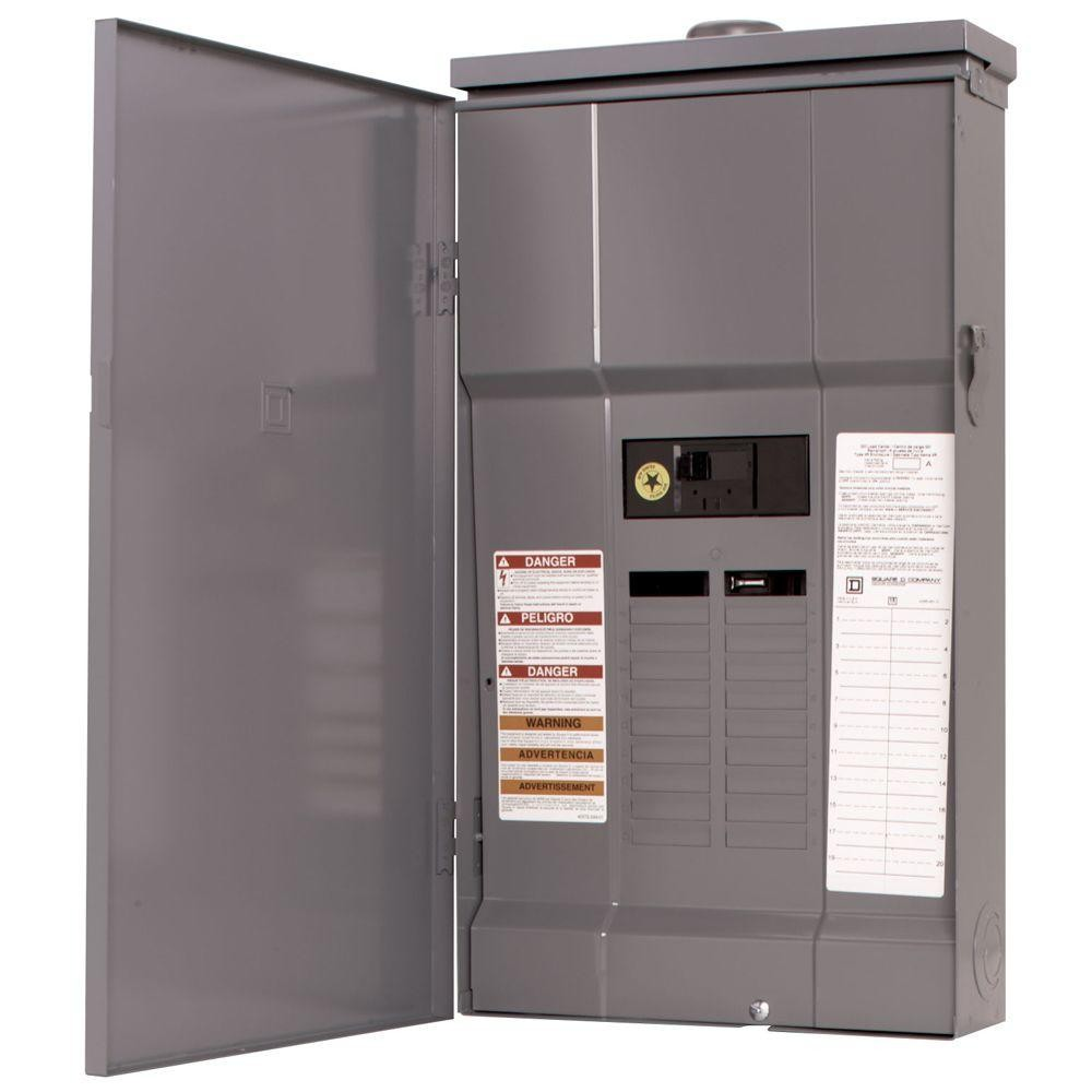Square D QO Load Center Electric Panel with  Breakers Rainproof 3R NEW !