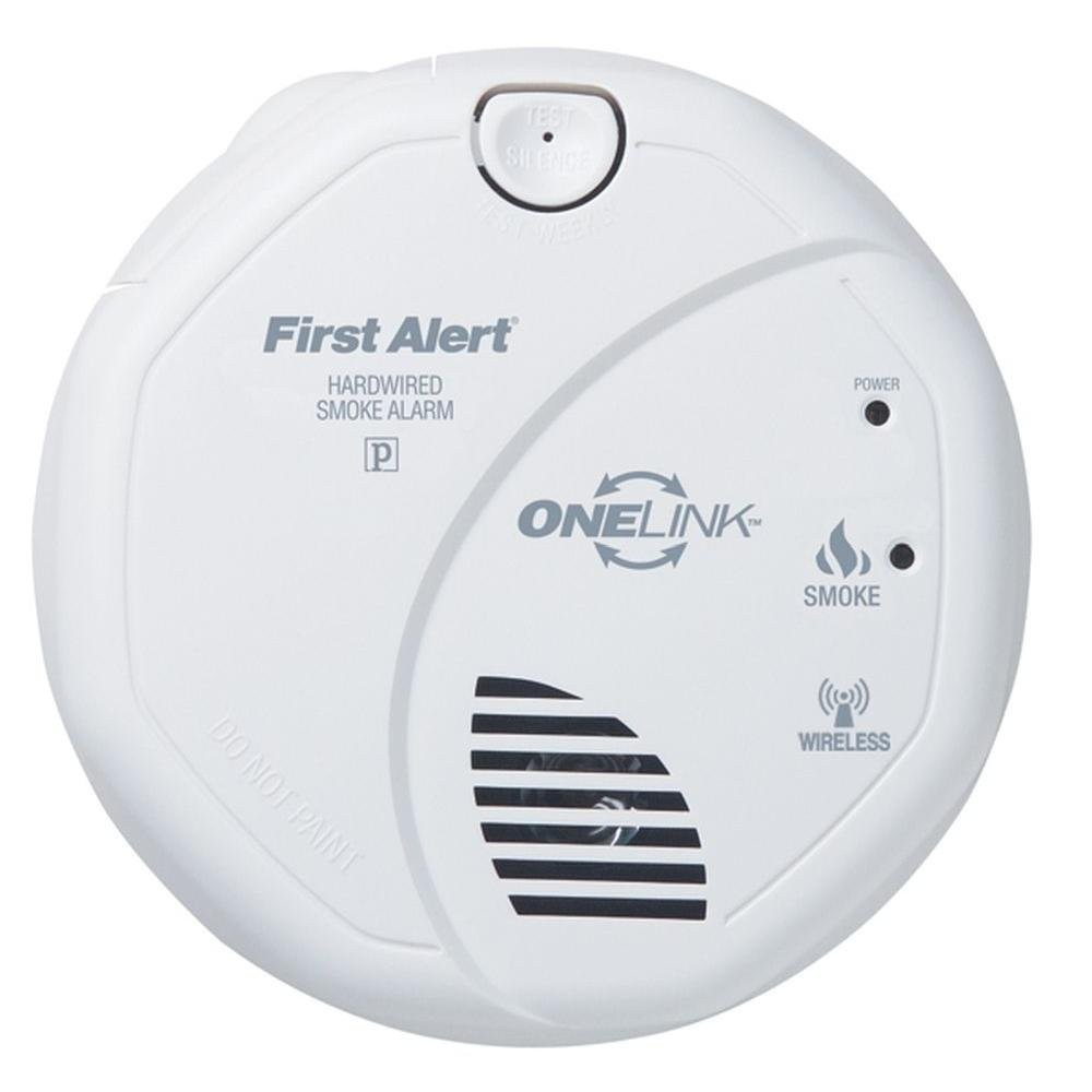 First Alert Hard Wired Smoke Trusted Wiring Diagram Detector Sa520b Alarm Wireless 120v Hardwired Beeping