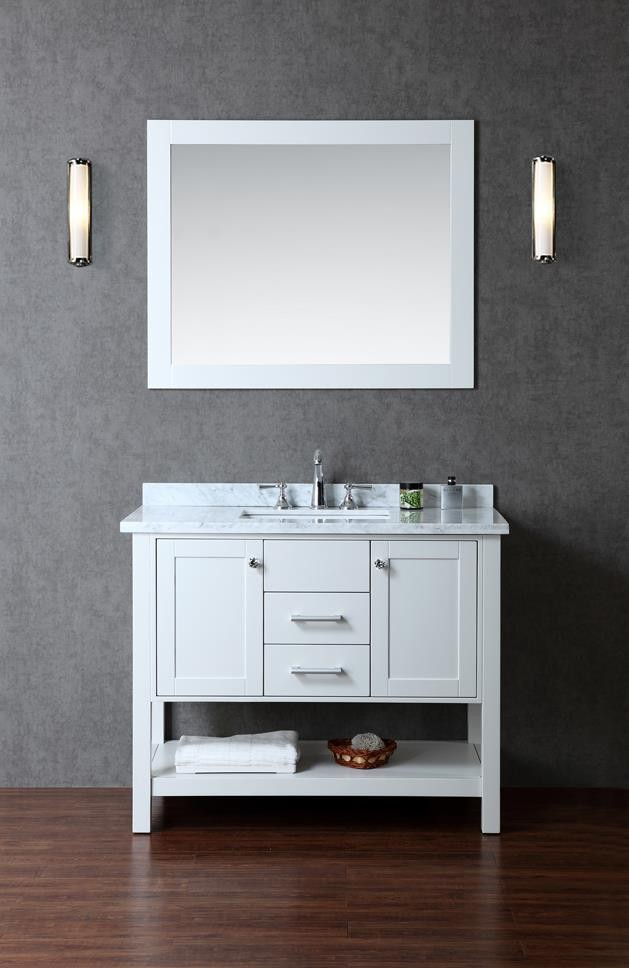 ariel bath scbay42scg - Images Of Bathroom Vanity