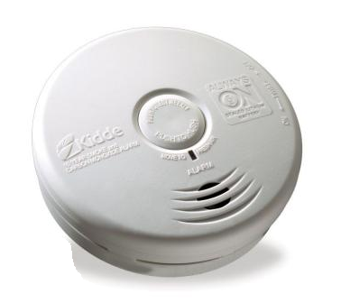 Kidde P3010K-CO Carbon Monoxide & Smoke Detector, 10-Year Worry-Free DC  Sealed Lithium Battery Powered for Kitchen (21010071)